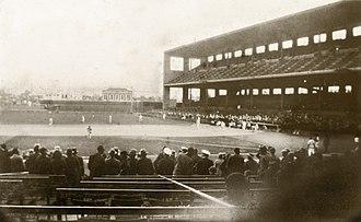 Wrigley Field (Los Angeles) - Wrigley Field in the early 1930s