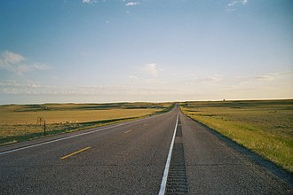 Niobrara County, Wyoming - Niobrara County (WY) SR85N