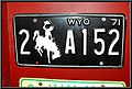 Wyoming 1971 license plate.jpg