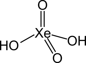 Xenic acid - Image: Xenic acid