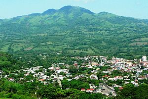 Santiago Tuxtla - City and surrounded farm/pasture land