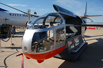 Bell XV-3 - Cockpit, Alliance Airshow, Fort Worth, Texas (2006)