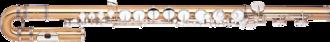 Alto flute - Alto flute with curved head.