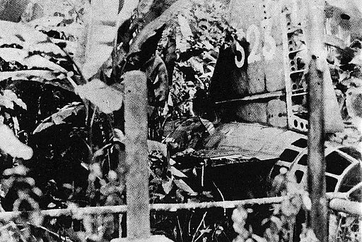 Yamamoto's airplane crash