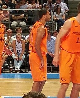 Yannick Franke Dutch professional basketball player