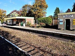 Yaxham railway station Railway station in Norfolk, England