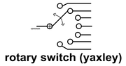 rotary switch (yaxley)