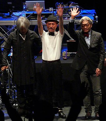 Yellow Magic Orchestra in 2008 Yellow Magic Orchestra in 2008.jpg