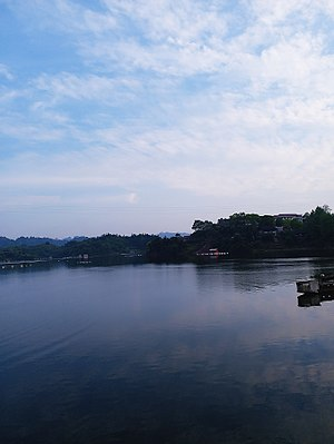 Yuan River - Image: Yuan River in Yuanling County of Huaihua, Hunan, picture 4