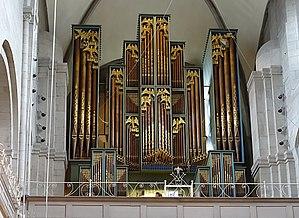 Metzler Orgelbau - Organ of Grossmünster made 1960