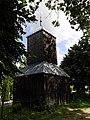 Zabytkowa dzwonnica na cmentarzu we wsi Wiślina - panoramio.jpg