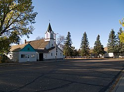 Immanuel Lutheran Church in Zap