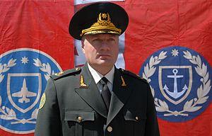 Zaza Gogava - Brigadier General Zaza Gogava.