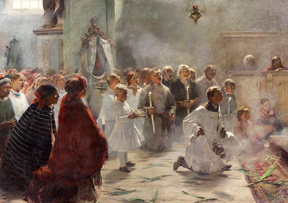 Zdzisław Jasiński Palm Sunday 1891