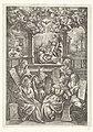 Zes profeten en de verkondiging aan Maria, RP-P-1908-2346.jpg