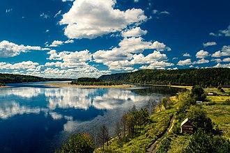 Zeya River - Island on Zeya River.
