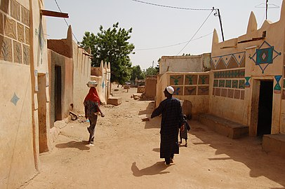 Zinder Old Town Niger 2007