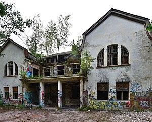 Zofiówka Sanatorium - Abandoned building of the Zofiówka Sanatorium, photographed in 2017