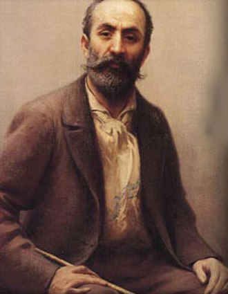 Fausto Zonaro - Self-portrait