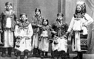 Mordvinian ethnic group