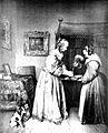 """""""Eine Dame im Atlaskleide""""; by F. Hanfstaengl, 1836 Wellcome L0020488.jpg"""