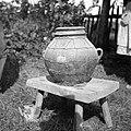 """""""Krugla"""" za med (""""žlambur"""" ni domač naziv), Vrh 2, Kovačič Anton, čebelar 1952.jpg"""