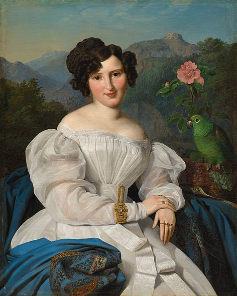File:'Countess Széchenyi' by Ferdinand Georg Waldmüller, 1828.JPG