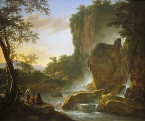 Italianate Landscape with an Artist Sketching from Nature