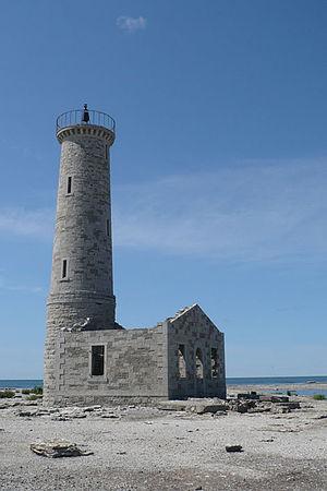 Mohawk Island - Gull Island Lighthouse.