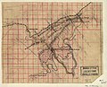 (Map showing the location of Roaring Run Furnace lands in Alleghany County, Virginia, nearing Covington). LOC 2005625152.jpg
