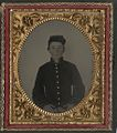 (Unidentified young soldier in Union uniform) (LOC) (14565620095).jpg