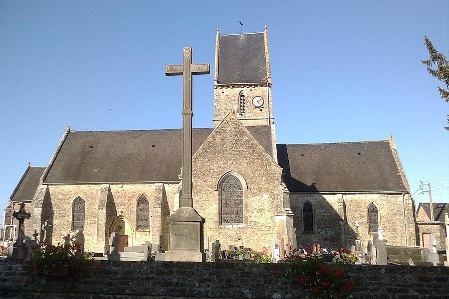 église de fr:Cretteville