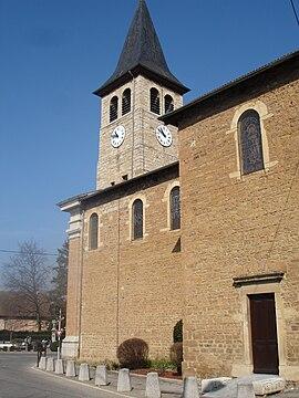 Église paroissiale saint-christophe chamagnieu