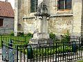 Épiais-Rhus (95), monument aux morts, devant l'église 3.jpg