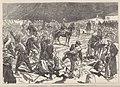 Événements d'Espagne, arrivée de don Carlos au pont d'Ameguy, frontière française, de Vierge.jpg