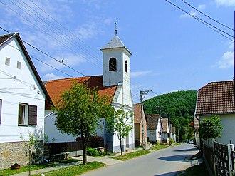 Mecsek - View of the still German-dominated Óbánya