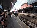 ÖBB Railjet to Vienna arriving at Klagenfurt Hauptbahnhof.jpg
