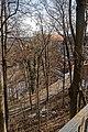 Český Krumlov - Zámecká zahrada - View East on Castle Český Krumlov.jpg