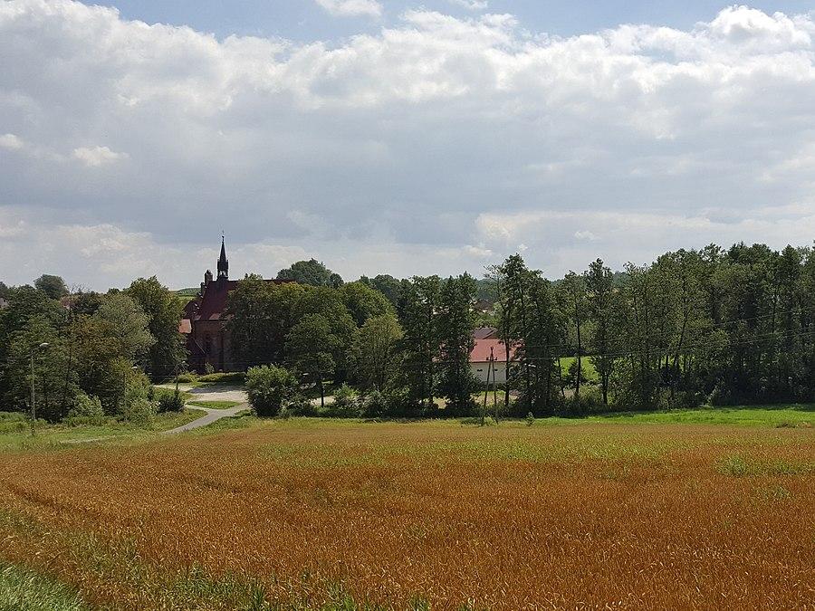 Łękawica, Tarnów County