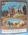 Архангел Михаил, побивающий трясавиц, святые Сисиний и Маруф, с мученичеством Сисиния.jpeg