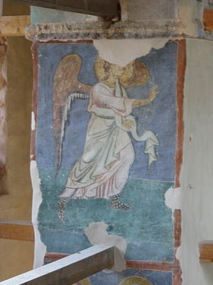 Antoniev Monastery - A fresco dating from 1125