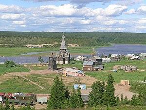 Tersky District, Murmansk Oblast - Village (selo) Varzuga, Tersky District