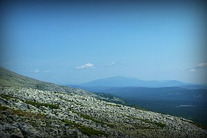 Denezhkin Kamen Nature Reserve - Denezhin Kamen from a height of 981 meters