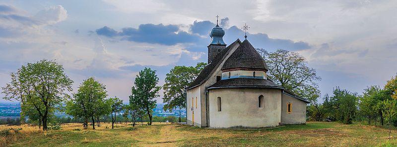 Горянська ротонда. Фото — Оксана Ващук, вільна ліцензія CC BY-SA 4.0