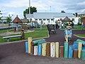 Детская площадка, здание бассейна с минеральной водой - panoramio.jpg