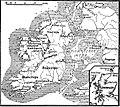 Карта к статье «Ирландские экспедиции». Военная энциклопедия Сытина (Санкт-Петербург, 1911-1915).jpg