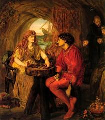 Ferdinand and Miranda playing chess