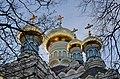 Покровський монастир. Миколаївський собор. 1896—1911 р. Верхи храму.jpg