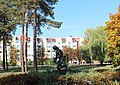 Скульптура композиція «Юнак сажає дубок», Славутич.jpg