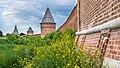 Смоленская крепостная стена. Вид на башню Долгочевская.jpg